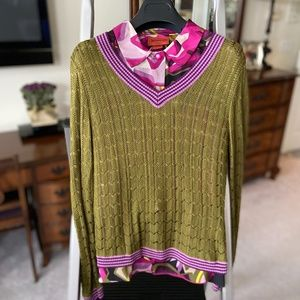 Missoni for Target Set - Blouse + Sweater
